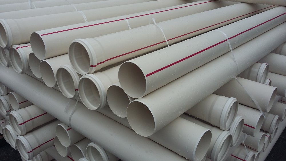 Труба ПВХ канализационная ⌀110 мм 3,2 мм 2 м