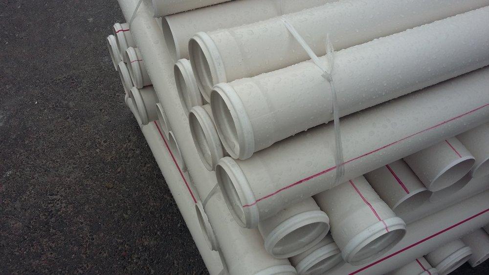 Труба ПВХ канализационная ⌀75 мм 3,2 мм 0,5 м