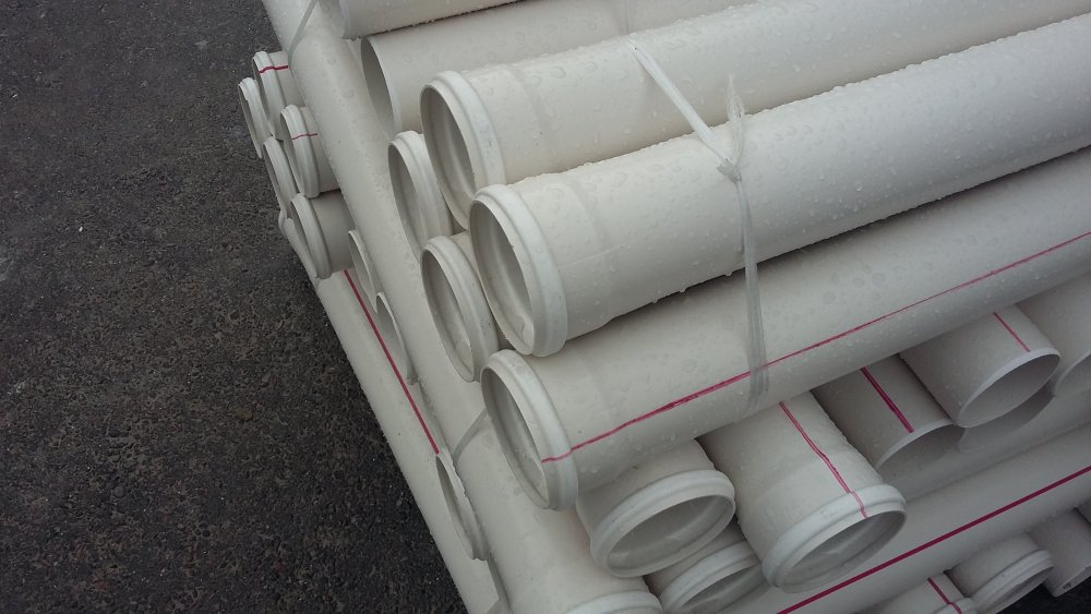 Труба ПВХ канализационная ⌀75 мм 3,2 мм 1 м