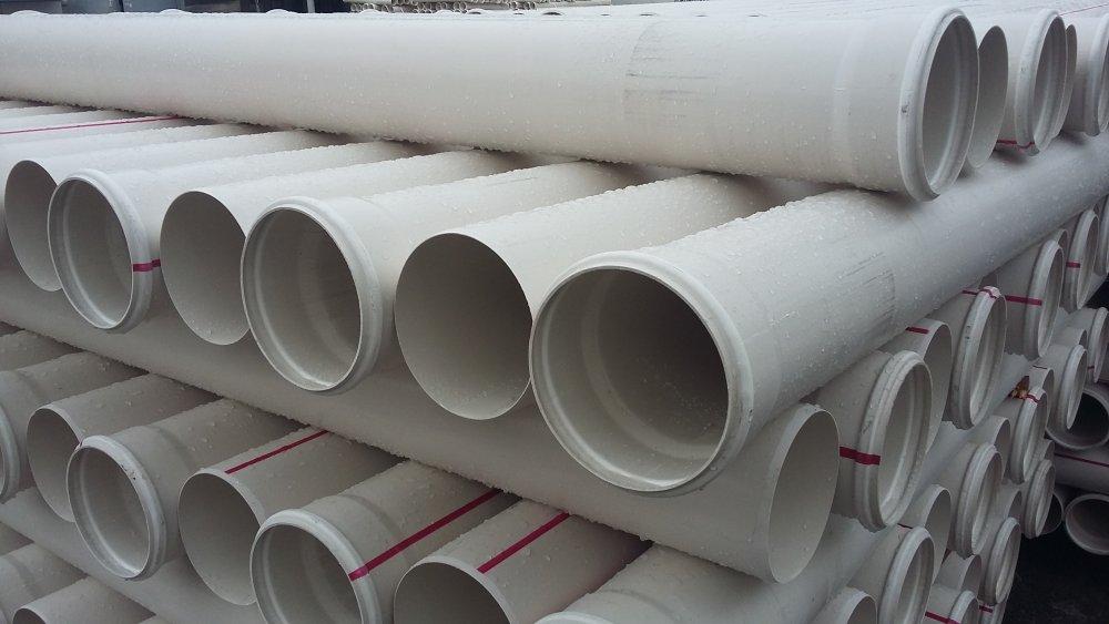 Труба ПВХ канализационная ⌀160 мм 3,6 мм 1 м