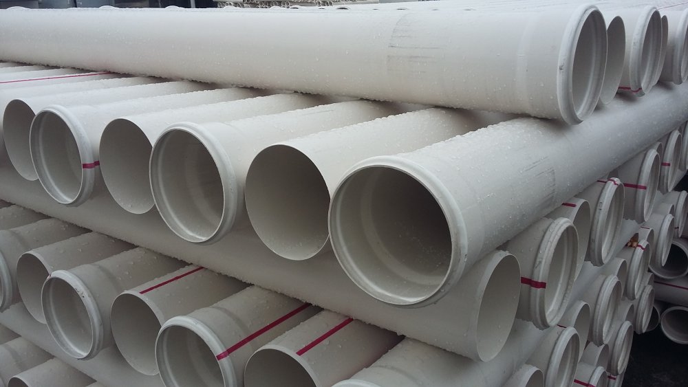PVC sewer pipe ⌀160 mm 3.6 mm 6 m