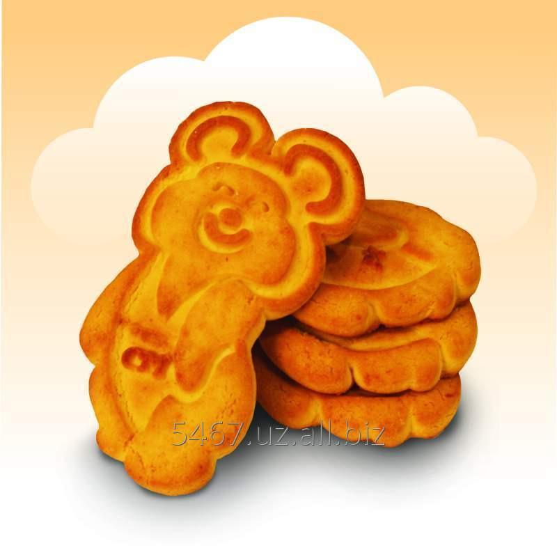 Печенье - Олимпийский мишка