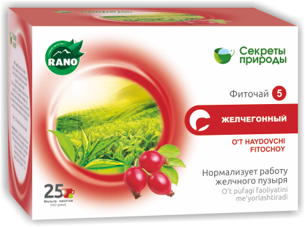 Фиточай  Желчегонный, ф/п 1х25