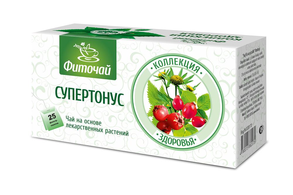 Фиточай Супертонус, ф/п 1гх25