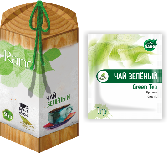 Green tea scattering of 50 g