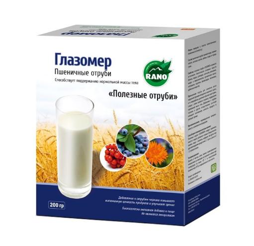 Пшеничные отруби Глазомер 200 гр