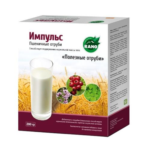 Пшеничные отруби Импульс 200 гр