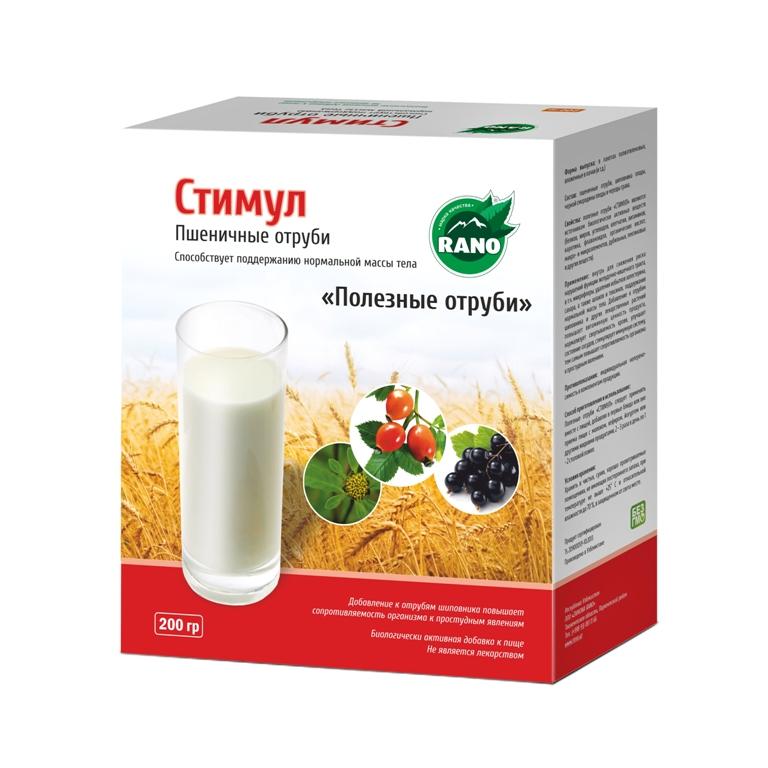 Пшеничные отруби Стимул 200 гр