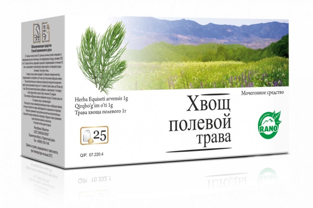 Хвощ полевой трава   в фильтр-пакетах 25гр