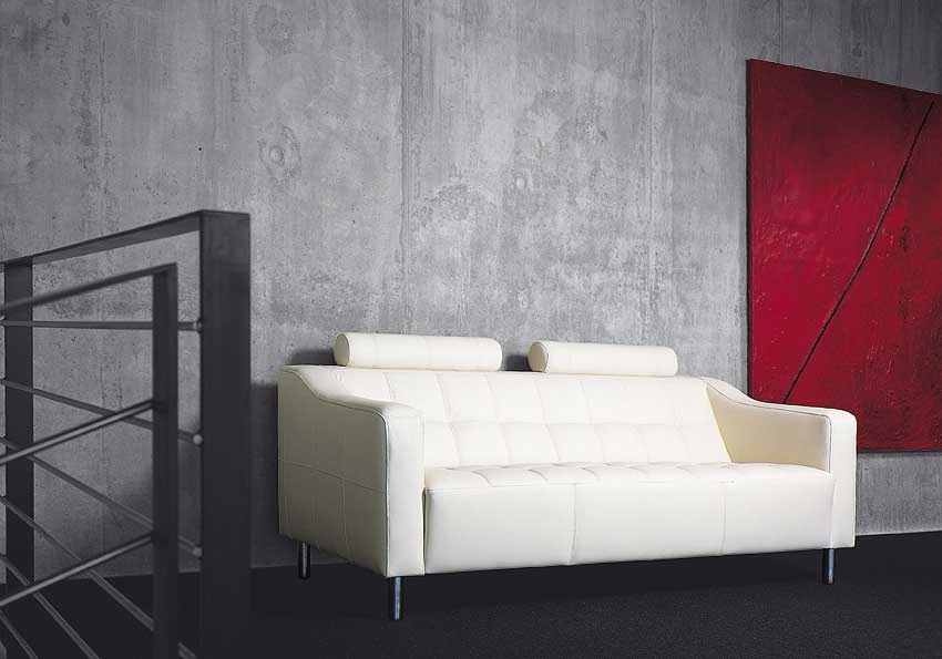 Hugo White Sofa