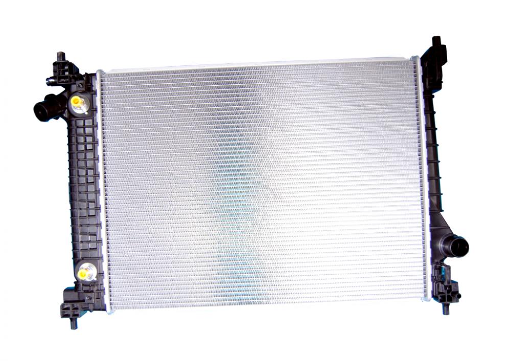 Радиатор  в сборе АТ для Nexia R3 (T250)
