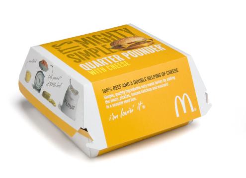Купить Упаковка для гамбургера