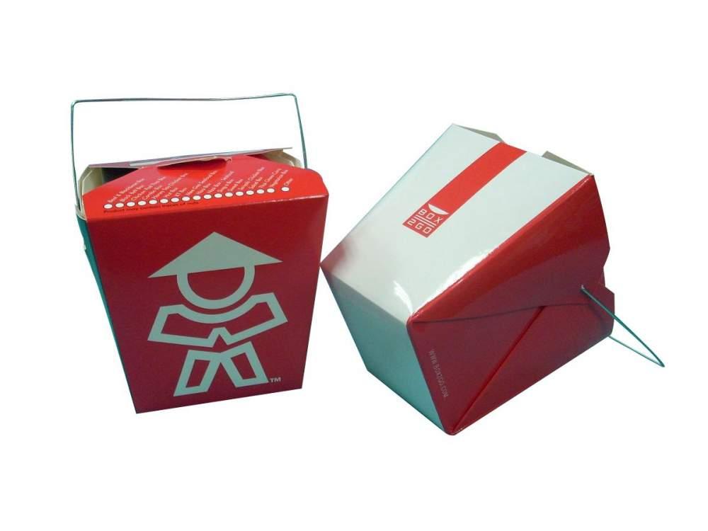 Купить Упаковка для китайской лапши, ламинированная