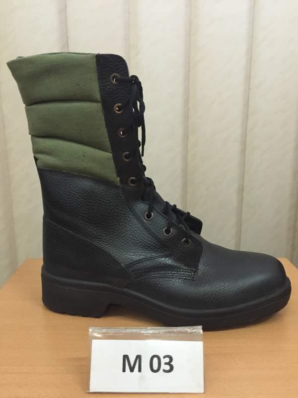 Ботинки с высокими берцами М 03