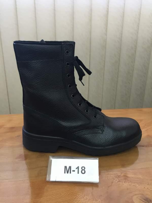 Ботинки с высокими берцами М 18