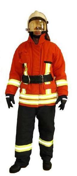 Боевая одежда пожарного 024