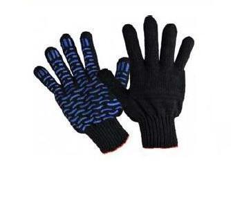 Рабочие перчатки х/б с ПВХ 045