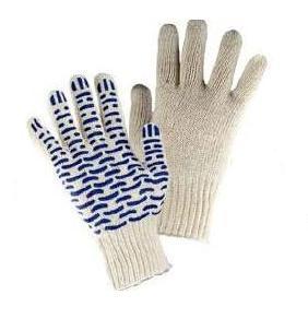 Рабочие перчатки х/б с ПВХ 047