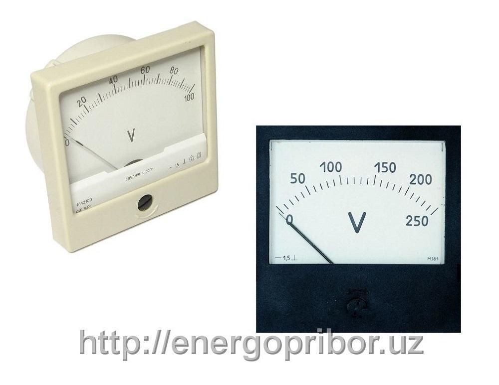 Купить Вольтметр Э365-1 Э8030 0-500в 0-250в