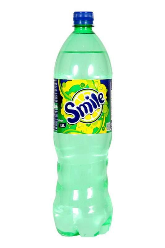 Купить Газированный напиток Smile Лимон