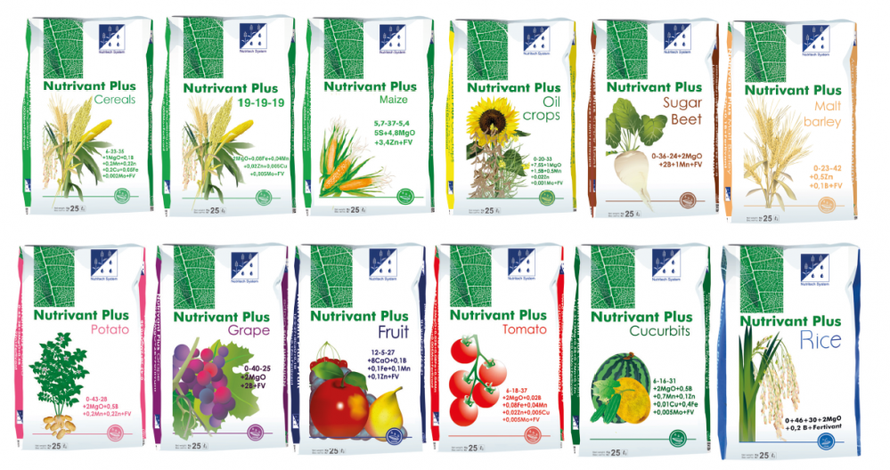 Линия удобрений NUTRIVANT PLUS, новые технологии листовой подкормки