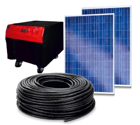 Buy READY MINI-SOLAR PHOTO-ELECTRIC SYSTEM 500-1500BATT