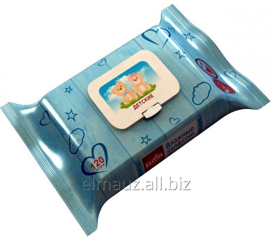 Купить Детские влажные салфетки Baby Lux Mini 120/14 Арт: В510