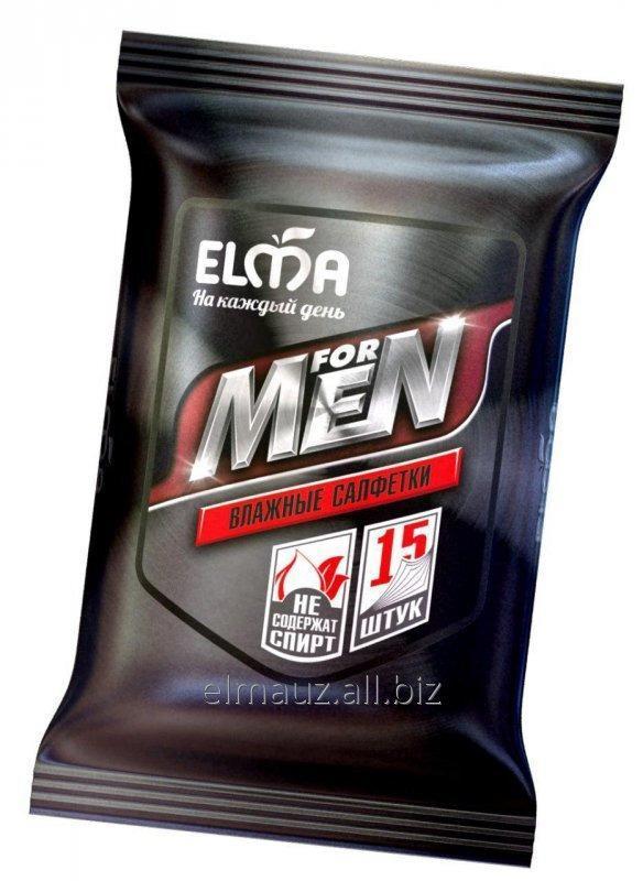 Купить Влажные салфетки Elma Men 15/36 Арт: В513