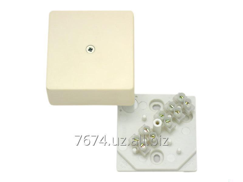 Buy Boxes razvetvitelny for open installation with a klemmnik for a cable of channels