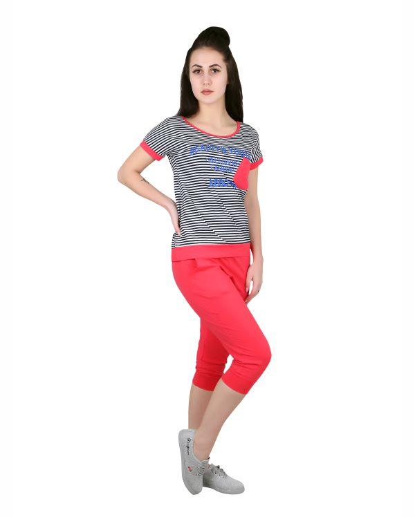 Купить Женский комплект: футболка с бриджами