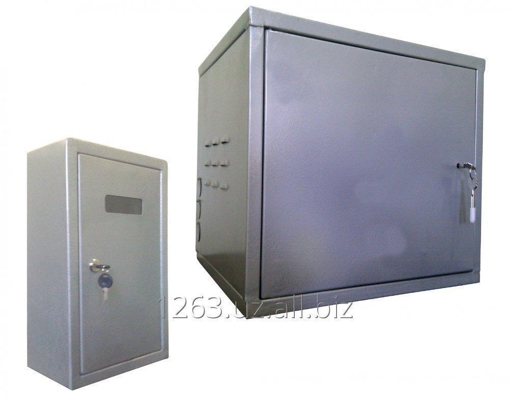 Купить Подъездной распределительный шкаф FTTB в комплекте со шкафом для электросчетчика