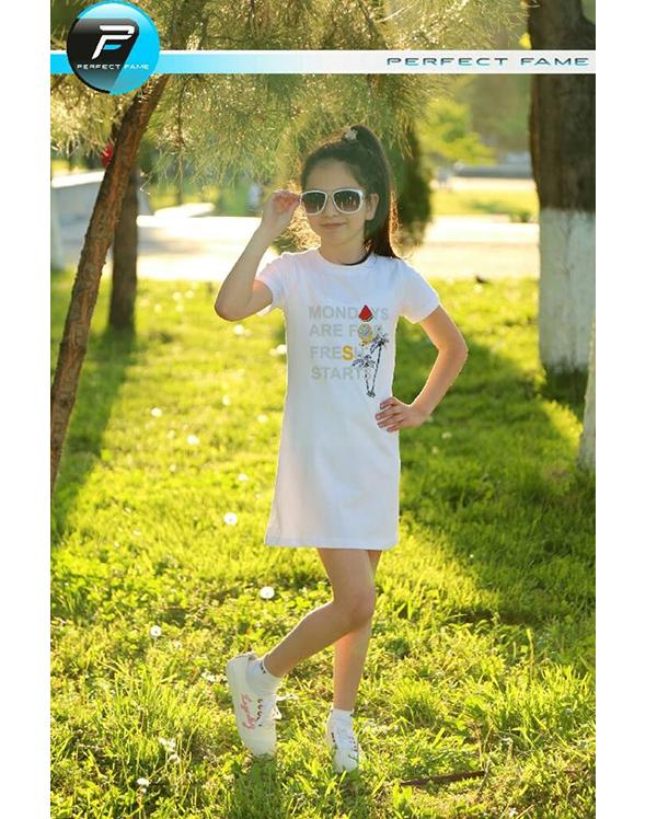 Купить Детская туника с коротким рукавом