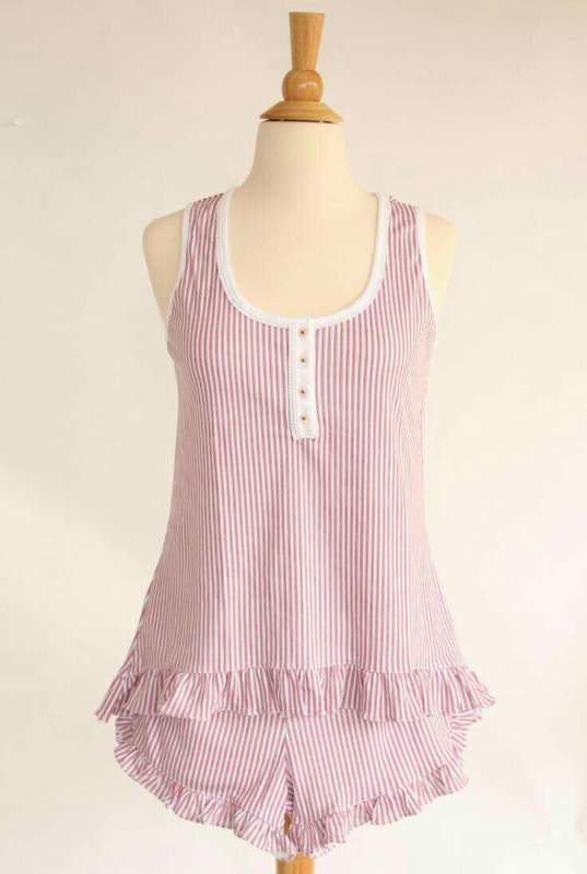 Купить Женская пижама с шортами светло-розового цвета