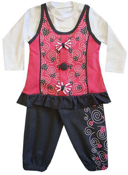 Детский костюм двойка для девочек