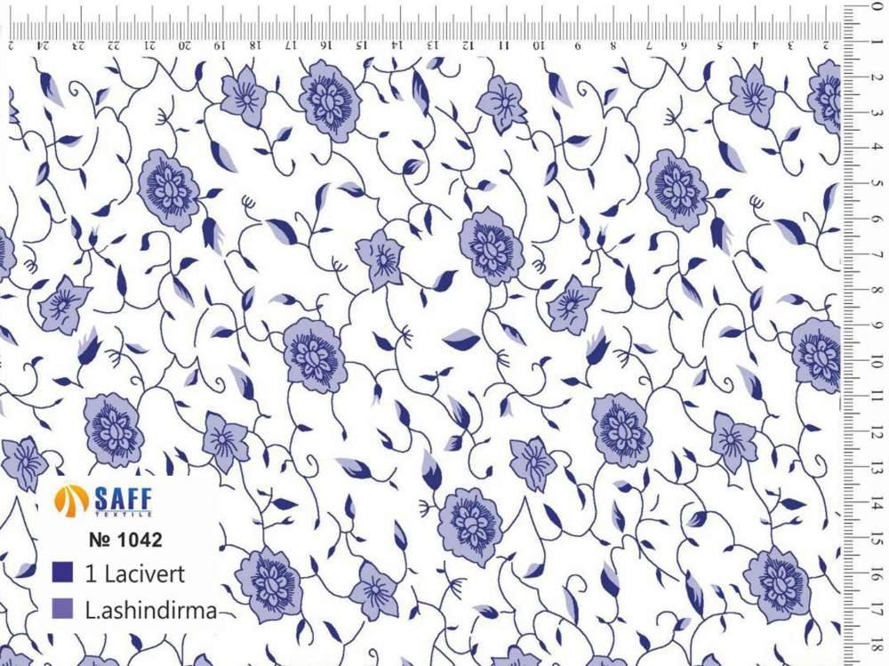 Купить Набивная ткань Baski-1042