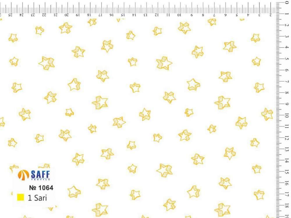 Купить Набивная ткань Baski-1064