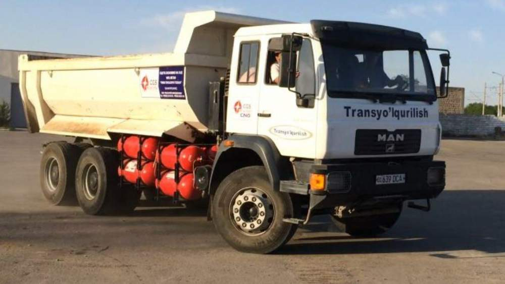 Aparatura plynová a betonový automobilní