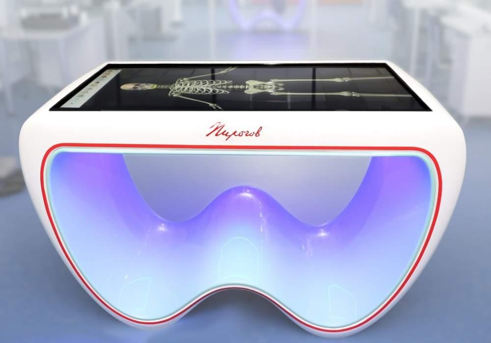 Купить Интерактивный анатомический стол Модель«Пирогов II»