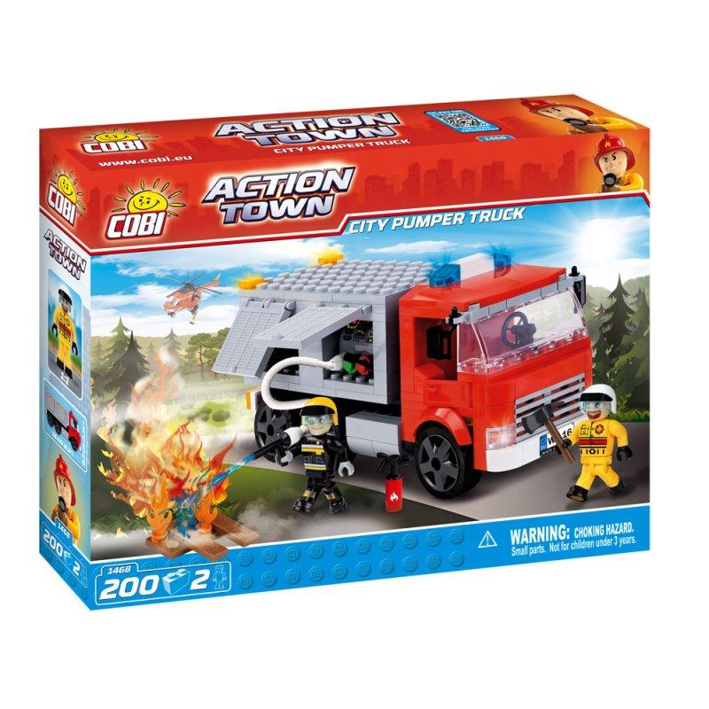 Купить Конструктор COBI 1468 Пожарный автомобиль