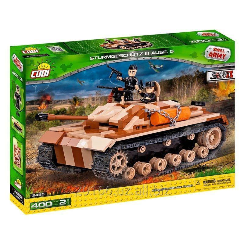 Купить Конструктор COBI 2465 Самоходно-артиллерийская установка STUG III AUSF.G