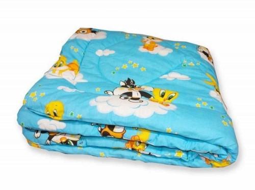 Детское одеяло синтепоновое 110x145
