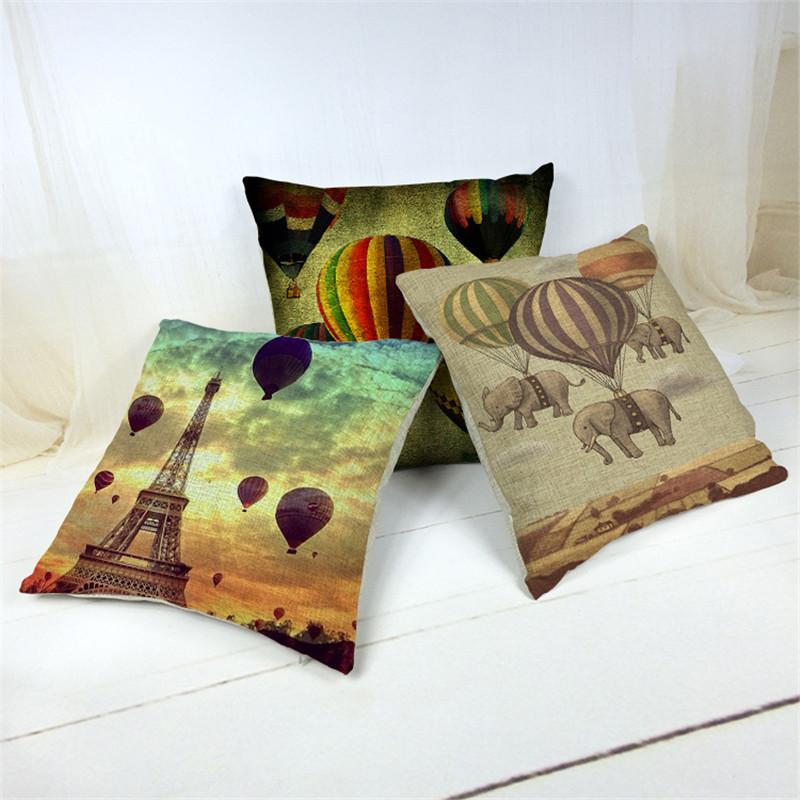 Подушки декоративные 3D печать 55x55