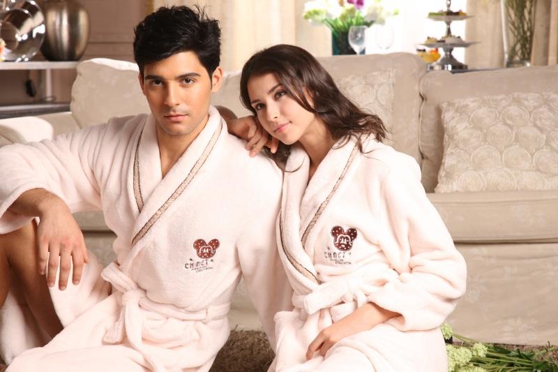 Банные халаты махровые