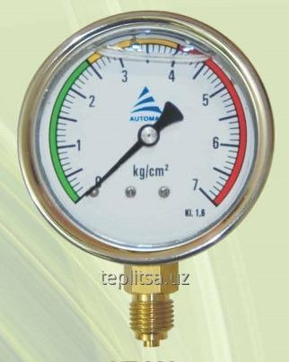 Buy Radial gauge with glycerine for drip irrigation systems 63 mm.
