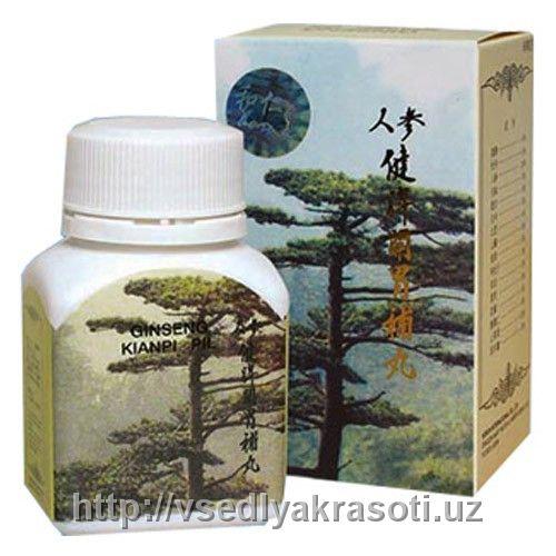 Капсулы для набора веса Ginseng kianpi pil