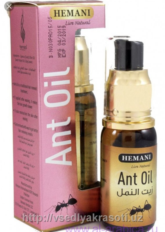 Муравейная масло Ant oil