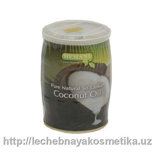 Масло для волос HEMANI Кокосовое в жестяной банке