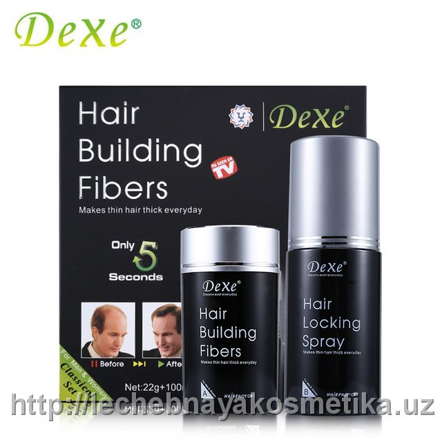 Загуститель волос Dexe