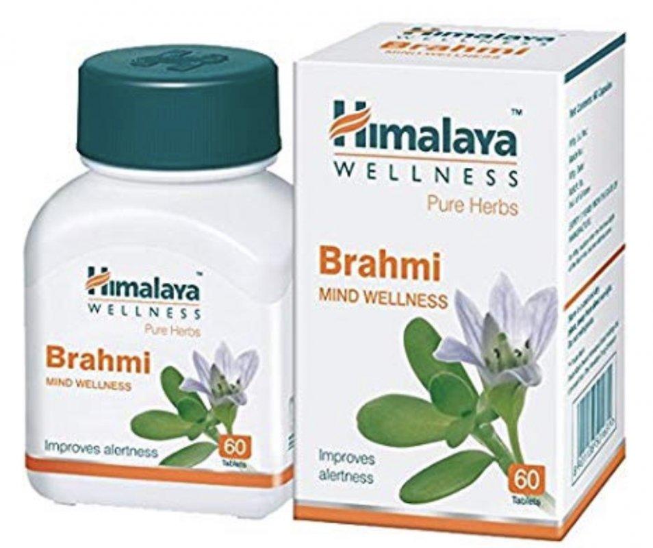 """""""Брахми"""" от компании """"Гималаи"""", 60 таблеток (Himalaya Brahmi )"""