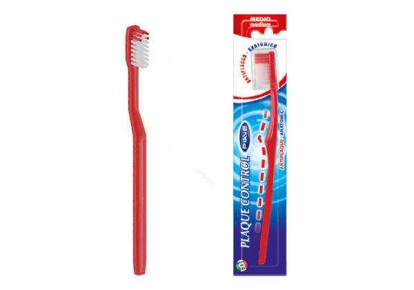 Купить Зубная щётка «PIAVE» серии Plaque control (Тип жёсткости щетины: средняя)